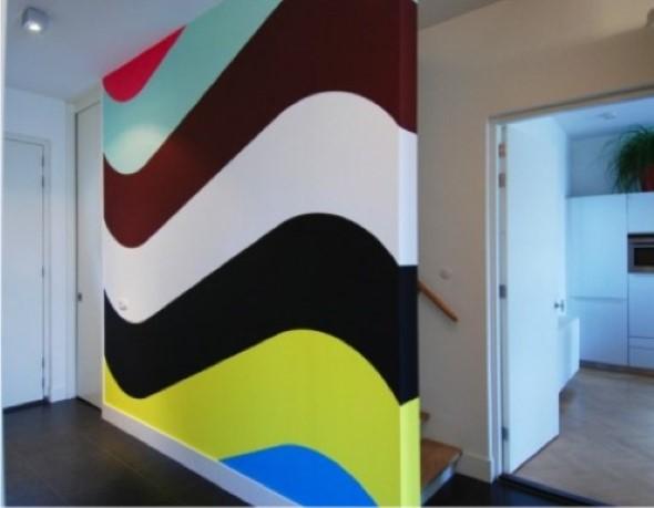 Dicas para pintar listras nas paredes de sua casa 007