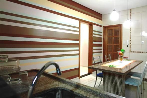 Dicas para pintar listras nas paredes de sua casa 012
