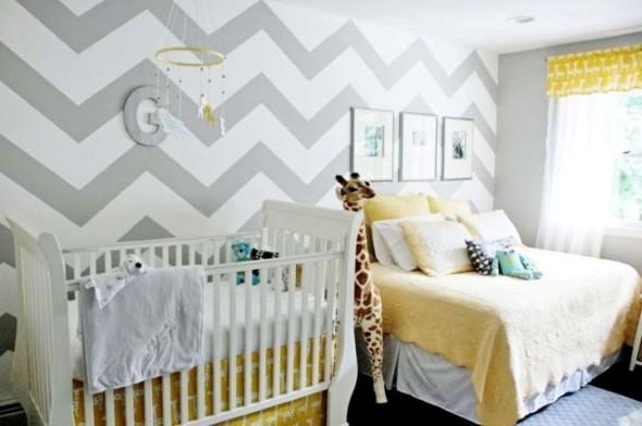 Dicas para pintar listras nas paredes de sua casa 014