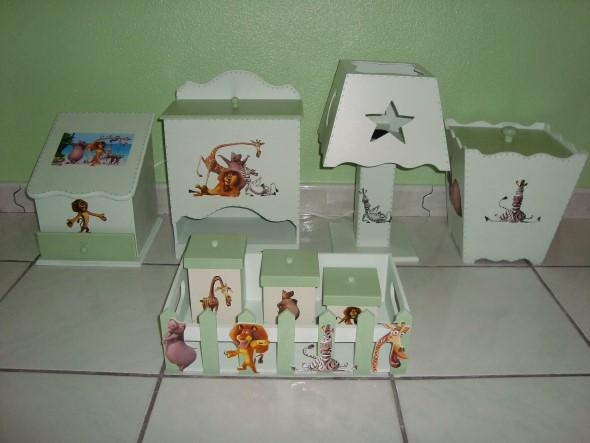 Armario Multiuso Para Cozinha ~ Enfeitar o quarto do beb u00ea com MDF