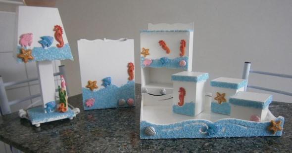 Artesanato Ponta Negra Natal Rn ~ Enfeitar o quarto do beb u00ea com MDF