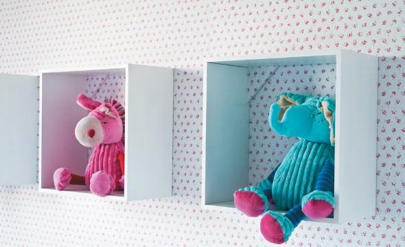 Enfeitar o quarto do bebê com MDF 012