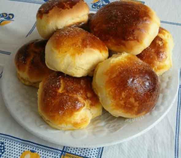 Receita de pão doce tradicional 001