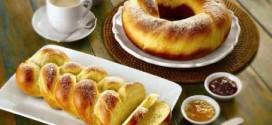 Receita de pão doce tradicional