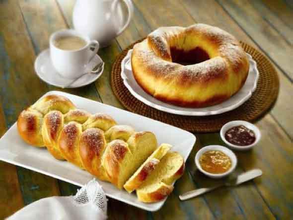 Receita de pão doce tradicional 002
