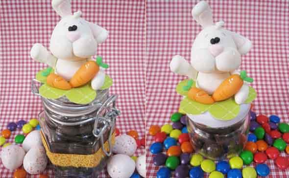 Coelhinhos da páscoa em biscuit 014
