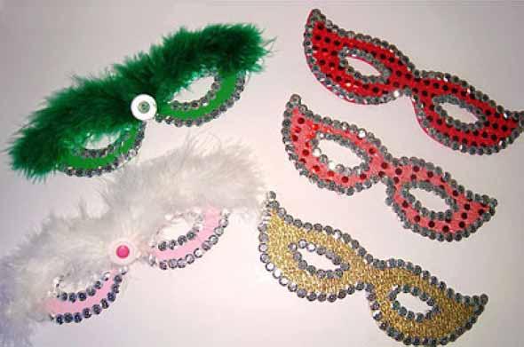 Como fazer mascara de carnaval 002