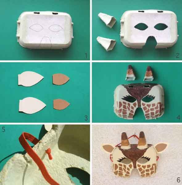 Como fazer mascara de carnaval 012