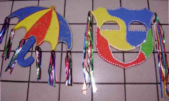 Enfeites artesanais para o Carnaval 012