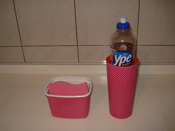 Reciclando potes plásticos 001