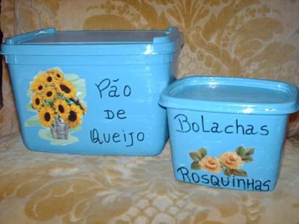 Reciclando potes plásticos 003
