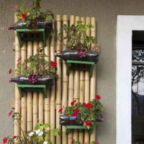 artesanato de bambu para jardim: de bambus e madeiras, e que vão deixar seu jardim e toda sua casa