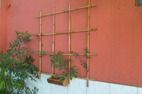 Treliças para enfeitar o jardim 011
