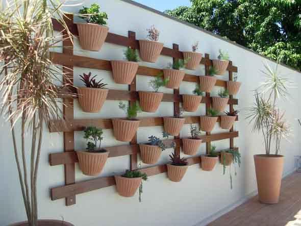Treliças para enfeitar o jardim 014