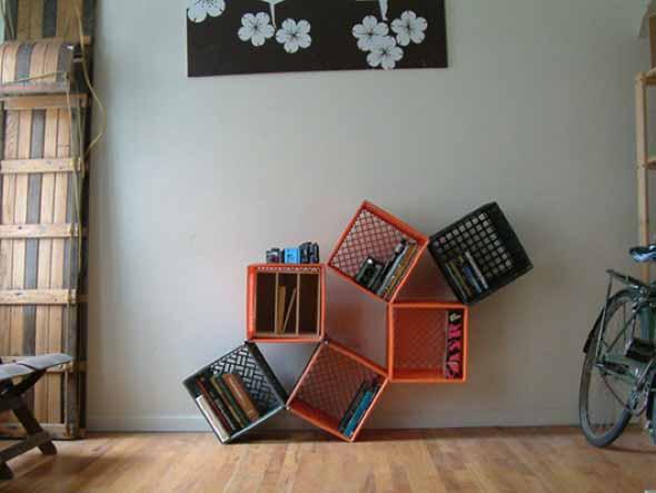 Como fazer nichos com caixote de feira 010