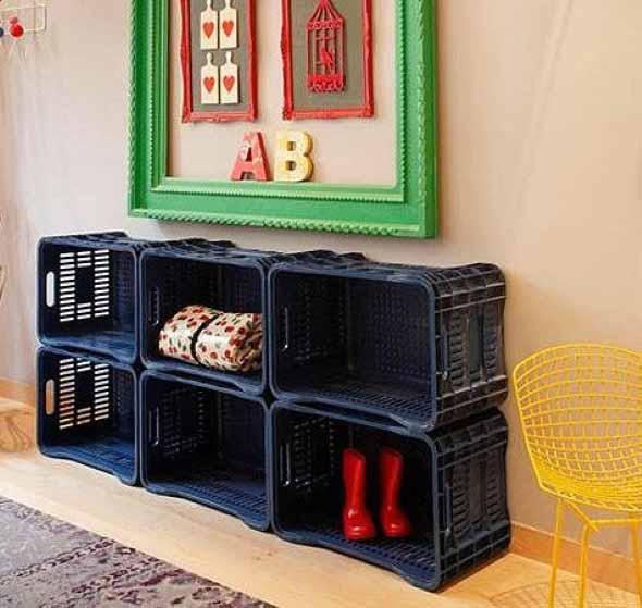 Como fazer nichos com caixote de feira 013