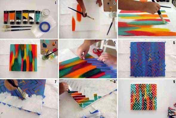 Quadros artesanais criativos 002