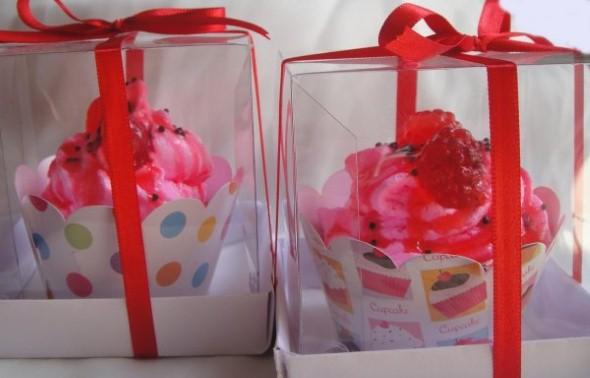 Aprenda a fazer sabonete de cupcake 010