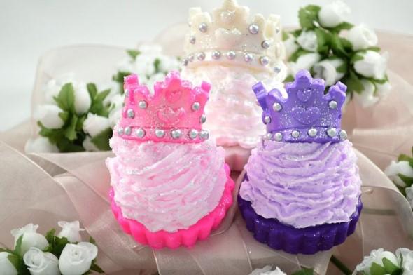 Aprenda a fazer sabonete de cupcake 012