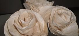 Como fazer flores com filtro de café