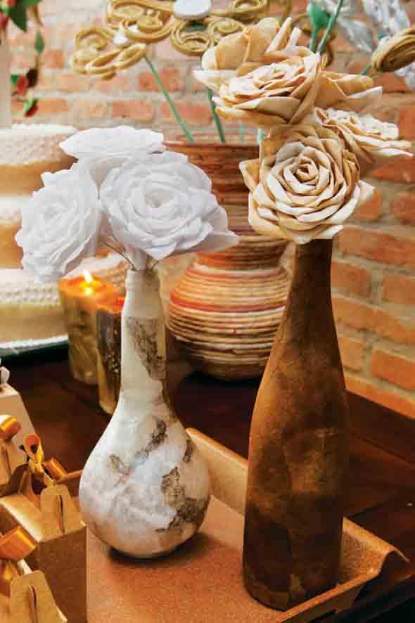 Como fazer flores com filtro de café 012