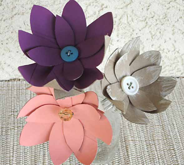 Flores artesanais para o Dia das Mães 004