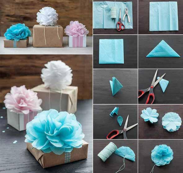 Flores artesanais para o Dia das Mães 005
