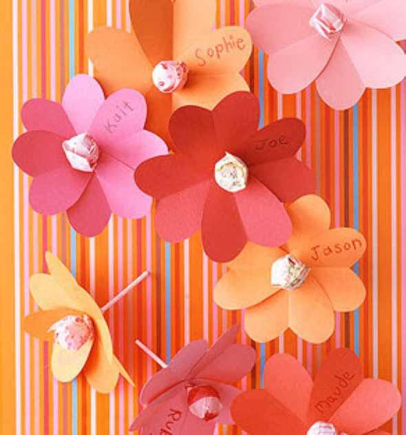 Flores artesanais para o Dia das Mães 007