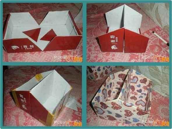 Ideias para reciclar caixas de sapato 010