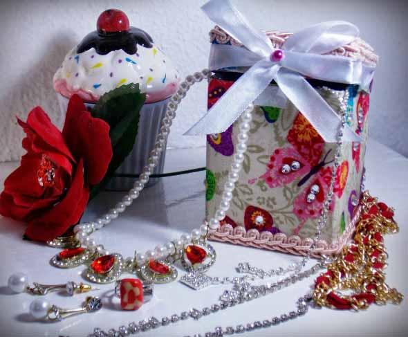 Porta-joias artesanal 002