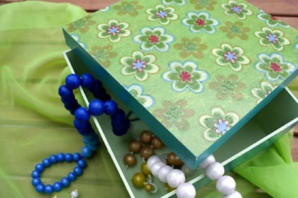 Porta-joias artesanal 008