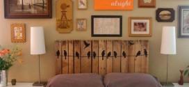 Como fazer a cabeceira da cama – Dicas e modelos