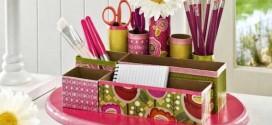 Como fazer organizador com caixas de papelão