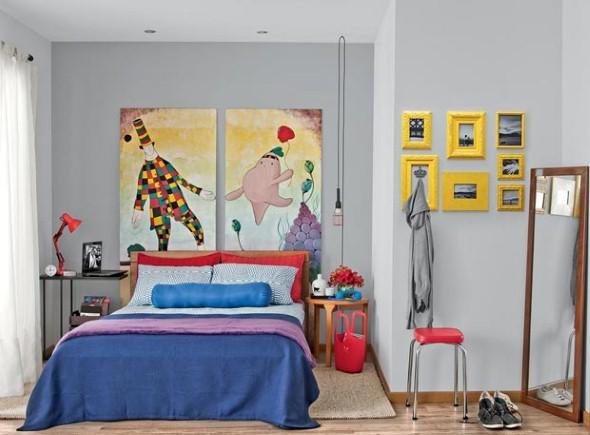 Dicas de artesanato para enfeitar o quarto 010