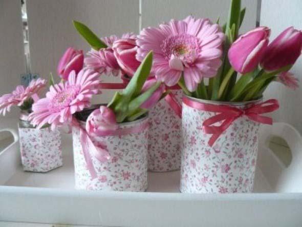 Diferentes tipos de vasos artesanais 011