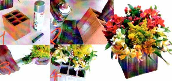 Diferentes tipos de vasos artesanais 014