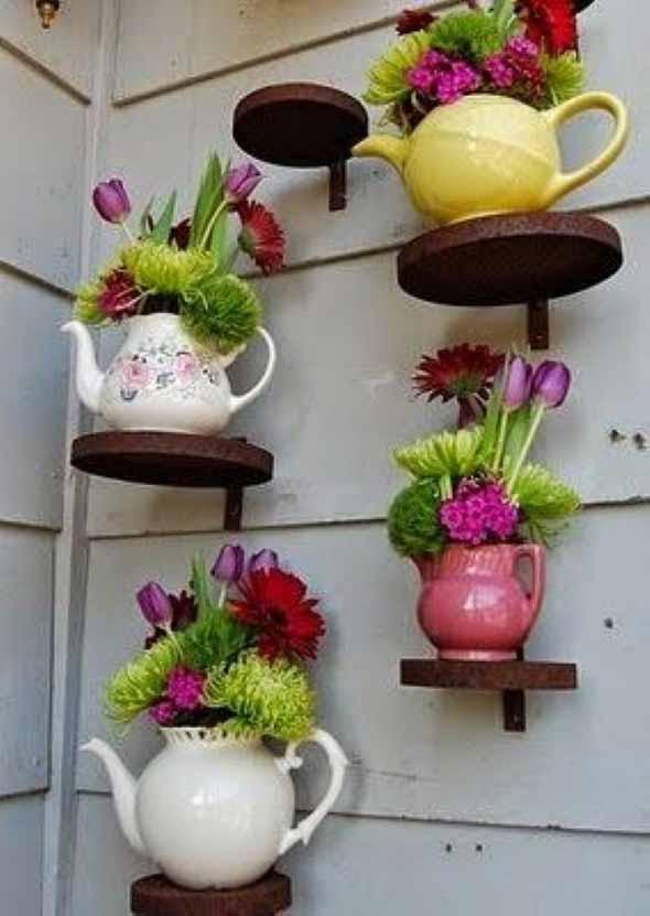 Diferentes tipos de vasos artesanais 015