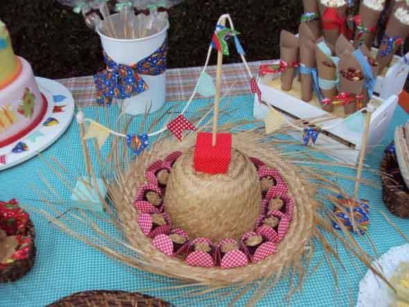 Enfeites artesanais para Festa Junina 004