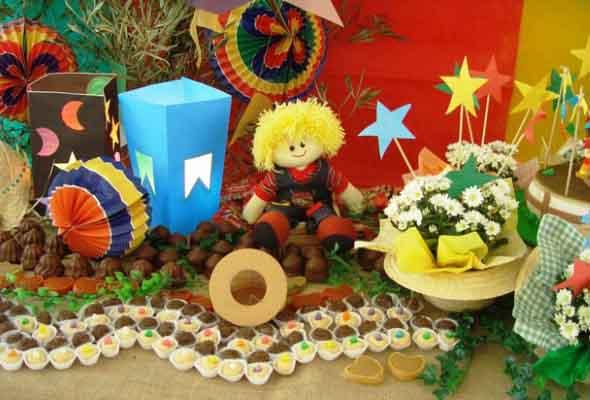 Enfeites artesanais para Festa Junina 009