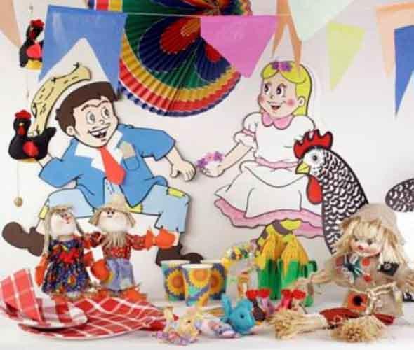 Enfeites artesanais para Festa Junina 011