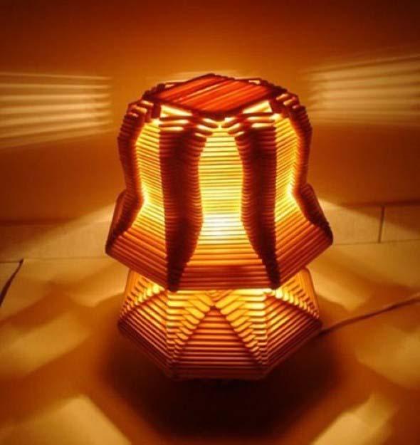 Luminárias artesanais 005