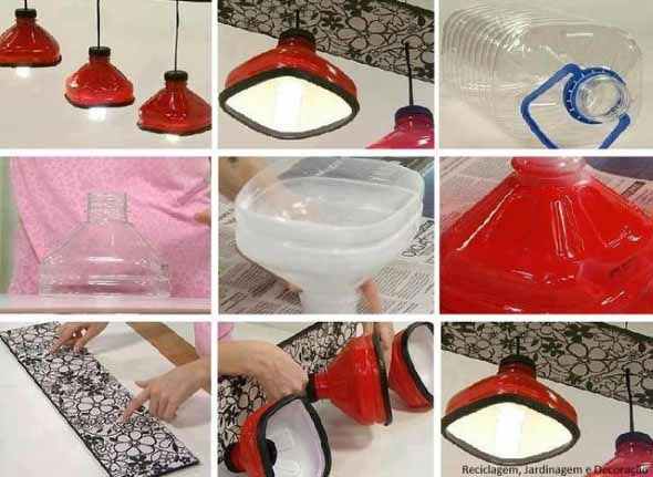 Luminárias artesanais 009