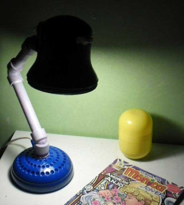Luminárias artesanais 013