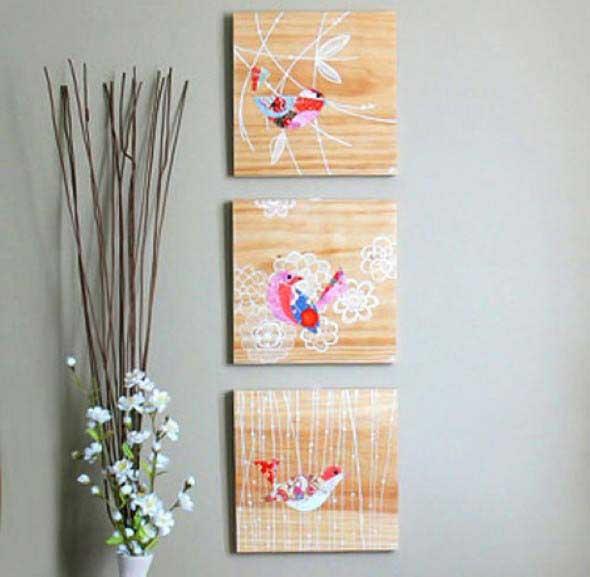 Modelos de quadros artesanais para fazer em casa 004
