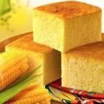 Receita de bolo de milho tradicional
