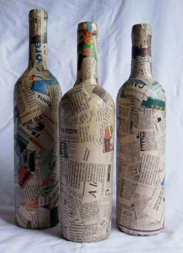 Artesanato com jornal – Dicas e modelos 006