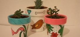 Dicas de artesanato com vasos de barro