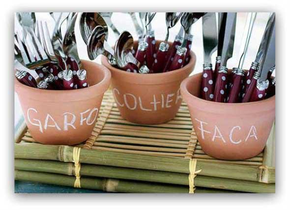 Dicas de artesanato com vasos de barro 012