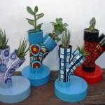 Fazendo reciclagem com PVC – 15 modelos criativos