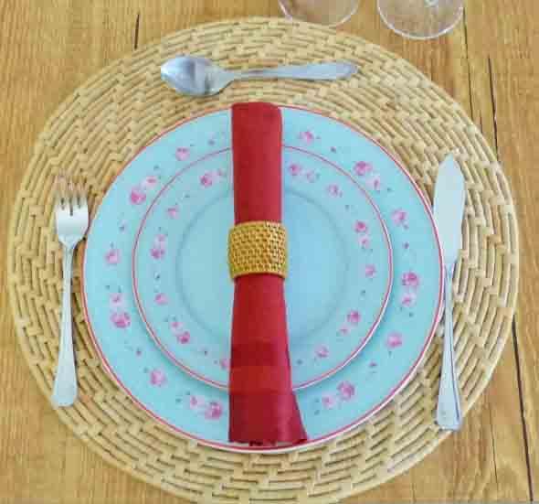 suporte para pratos artesanal 009